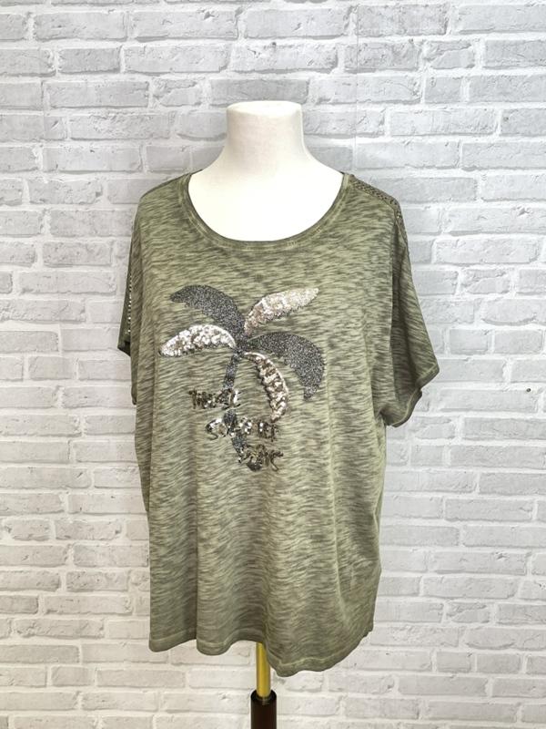 T-Shirt Rundhals 1/2 Arm Motiv