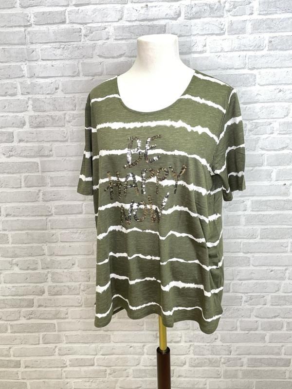 T-Shirt Rundhals 1/2 Arm Druck Moti