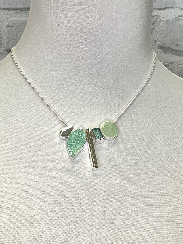Rustikale Karo-Bluse / Jacke